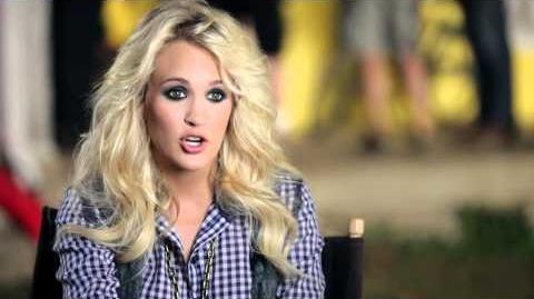 "Carrie Underwood - Behind The Scenes of ""Blown Away"""