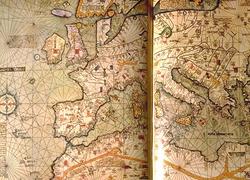 Brunant medieval map