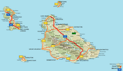Motorways map