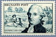 Hans August Detker stamp
