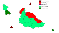 Languages map