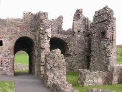 Niesberg Castle ruins