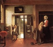 Kitchenmaid and Child