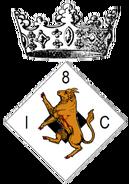 8th Infantry Cie insignia