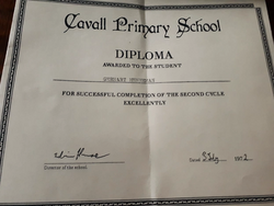 1970s second cycle diploma