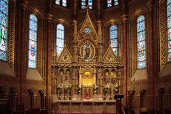 Grijzestad Cathedral altar