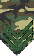1991-pattern 1st Sergeant rank