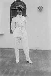Marten II in uniform