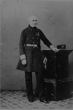 A veteran from 1815