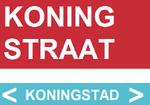 Koningstraat street sign