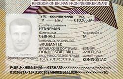 Gert Henneman passport