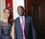 Queen Helene and Vincent Ndengu