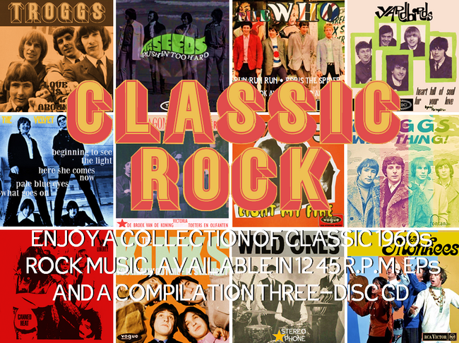 Raconteur Records Classic Rock collection