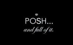 Posh...ad full of it