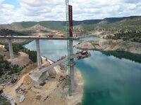 Martiges Viaduct construction