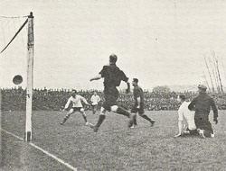 Brunant vs England 1909