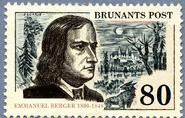 Emmanuel Berger stamp