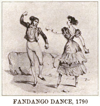 Fandango dance