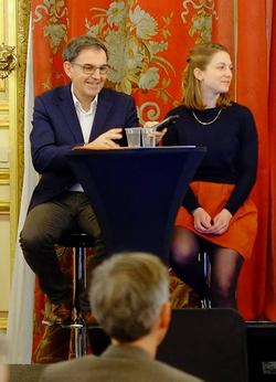 Van Buskirk and Carina Nordin