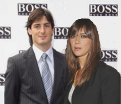 Felix Brunner and Cristiane Melker