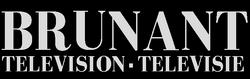 Brunant Television logo 1950s