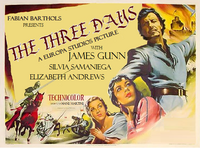 The three days poster