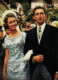 Aleksandra and Marten in 1954