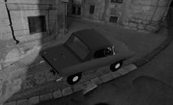 Car in Koningstad ca. 1964-65