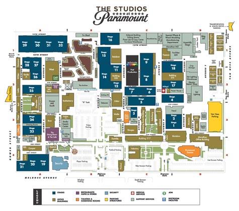 Paramount Lot Map 042810-1