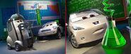 Cars 2 allinol study promotion image