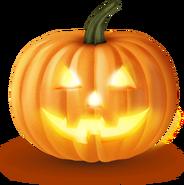Tykva halloween fonar