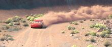 DirtTrackLightningMcQueenCars