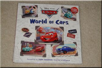 Cars Book World of Cars
