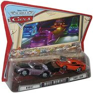 Cars Boost and Snot Rod toys