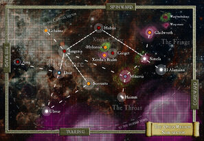 Onus region subsector map 3