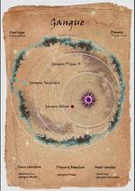 Gangue system map