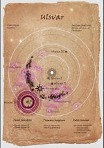 Onus star systems map - Ulsvar