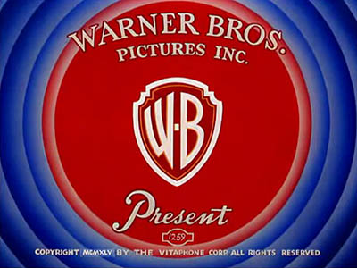 WARNER BROS OPENING CARD