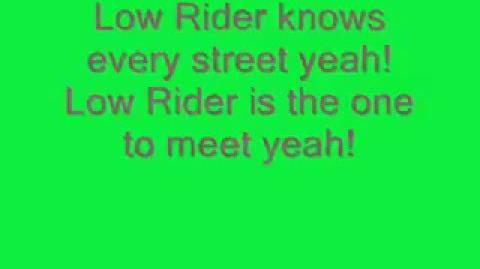 Lowrider with lyrics - War