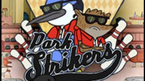 Regular Show Park Strikers Walkthrough w Mordecai HD