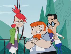 Franka, Adam i Douglas