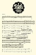 Zapis nutowy melodii DDZPPF