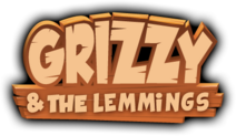Grizzy and the Lemmings Logo