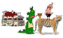 Uncle Grandpa Group White