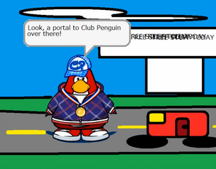 Portal to Club Penguin Real Life World