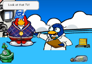 Flooded Club Penguin from Tsunami