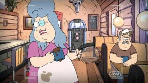 Hide Behind - Dipper's Guide to the Unexplained - Gravity Falls - Disney Channel Official
