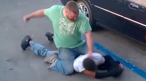 WARNING Violent Street Fight (Gracie Breakdown)