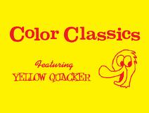 Harold Walker's Color Classics Logo 1957-1960 (Yellow Quacker variant)