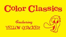 Harold Walker's Color Classics Logo 1957-1960 (Yellow Quacker variant) (widescreen)